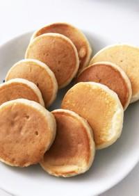 *離乳食後期*林檎のパンケーキ