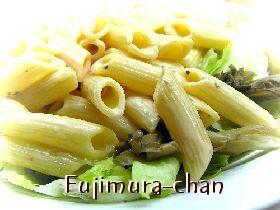 舞茸とマカロニのイタリアンサラダ