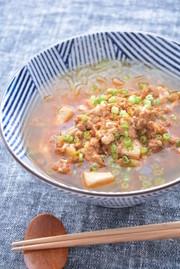 こんにゃく麺でダイエット麻婆ラーメンの写真