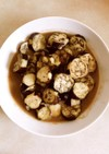 レンジで作るナスの味噌煮(お弁当の具)