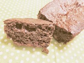 バター無しガトーショコラ風パウンドケーキ