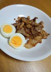 豆板醤でピリ辛豚肉炒め