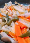 野菜たっぷり☆塩鮭のピリ辛ちゃんちゃん焼