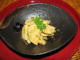 酢味噌で頂く「筍の木の芽和え」