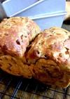 レンジ発酵 ふすまミルクパン もち麦