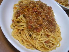 母の味☆定番ミートソーススパゲティー♪