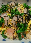 【ひな祭り】野菜ジュースのちらし寿司