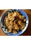 豚肉と大根の味噌マヨ炒め