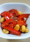 お弁当のすき間にパッとパプリカ大豆