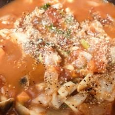 野菜食べるスープ☆蕪(かぶ)のトマト煮