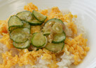 菜種卵入りじゃこ飯