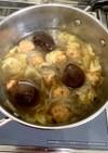 ボリューム満点!肉だんごの白菜鍋(^^)