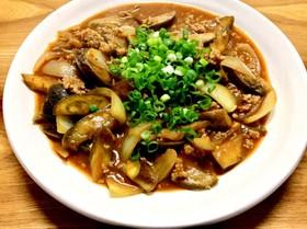 茄子の(麻婆風)味噌炒め