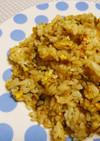 簡単ランチ♫高菜と卵のチャーハン