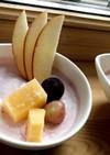 材料2つ♡ココナッツストロベリームース