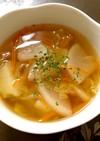 胃腸に優しい!サラダ代わりの野菜スープ*