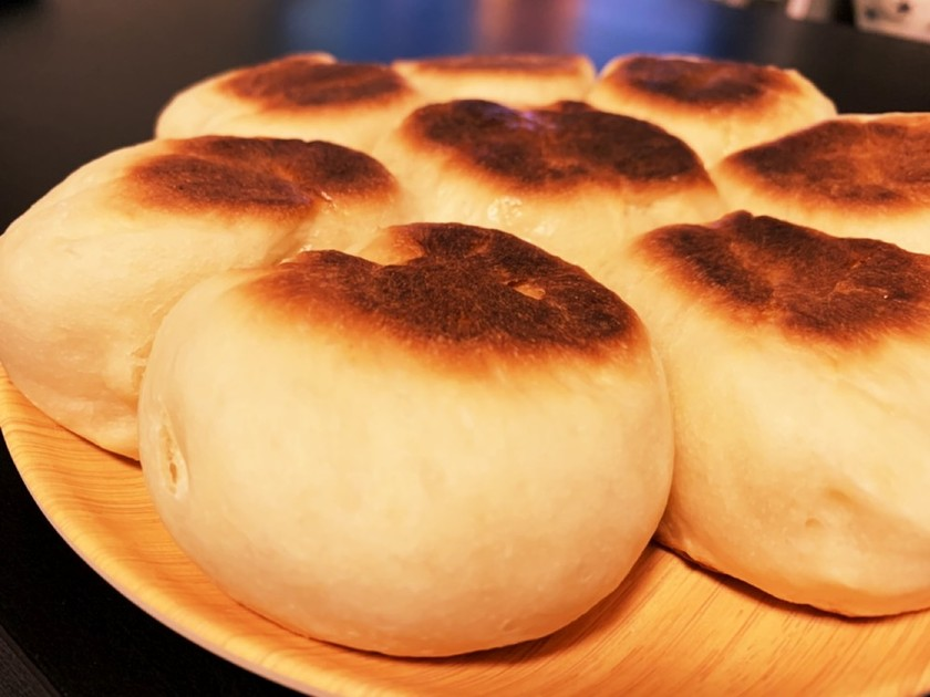 フライパンで焼ける簡単ちぎりパン!
