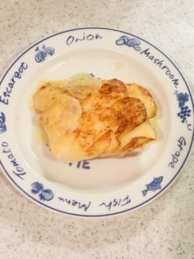 サーモンのポテトスライス包み焼き