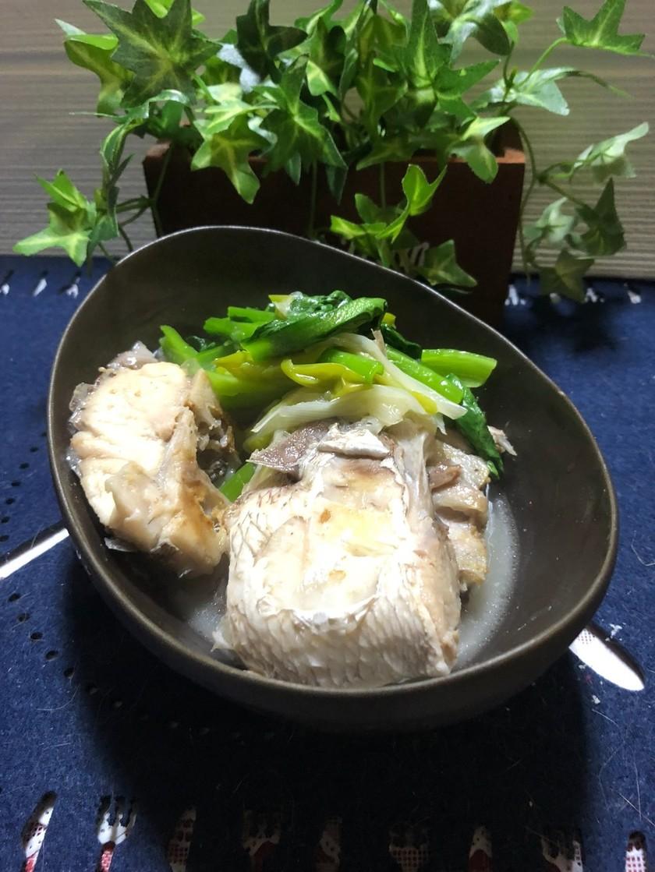 私流☆沖縄の簡単お魚マース煮(塩煮)