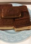Lotusクッキーサンドチーズケーキ