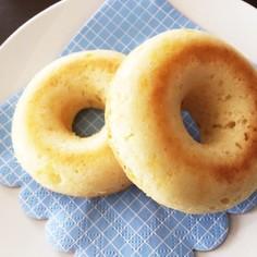簡単HMでヨーグルトの焼きドーナツ