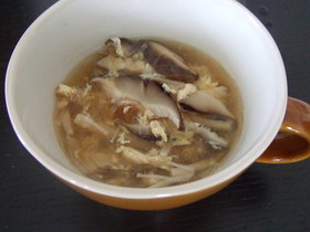 酸っぱ辛いスープ♪酸辣湯(スーラータン)