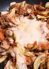 豆板醤でチーズタッカルビ風 鶏もも炒め