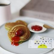 """簡単に""""ゆる糖質オフ""""できるパンケーキの写真"""