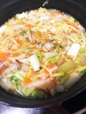 白菜☆コンソメ味☆万能アレンジ野菜スープ