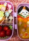 ひな祭りの幼稚園お弁当