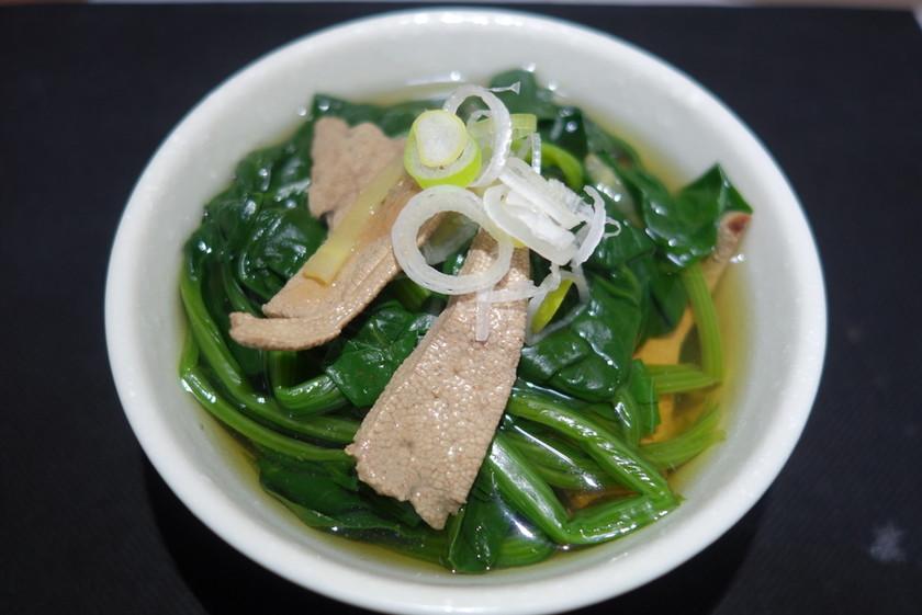 鉄分爆弾スープ
