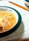 キムチ大根★ピリ辛中華風味噌汁!?