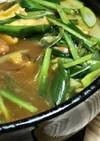キムチ鍋の残りでカレー鍋