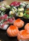ひな祭り  いろいろ手まり寿司♪