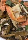 茎ワカメのツナサラダ