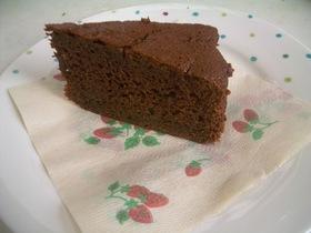 ノンオイル!なのに濃厚チョコレートケーキ