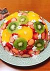 美味!!フルーツドームレアチーズケーキ♡