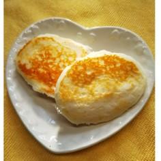 甘酒と米粉のパンケーキ