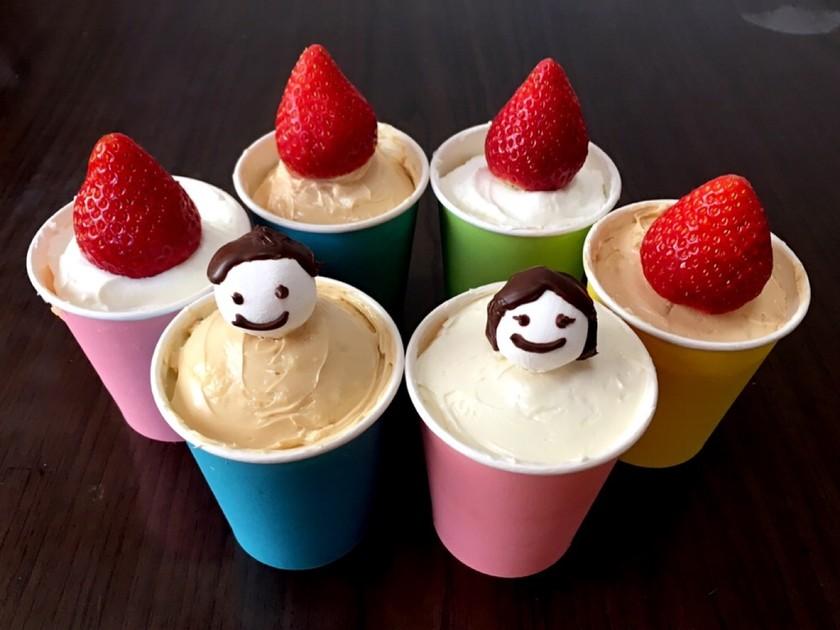 レンジで簡単☆ミルキーソフトカップケーキ