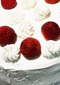 炊飯器で作る苺のケーキ