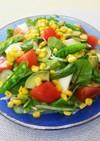 おもてなしに、カラフル春色サラダ。