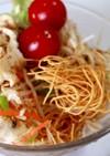 皿うどんパリパリ麺サラダ