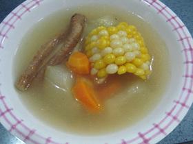 お肌にいい♪瓜スープ