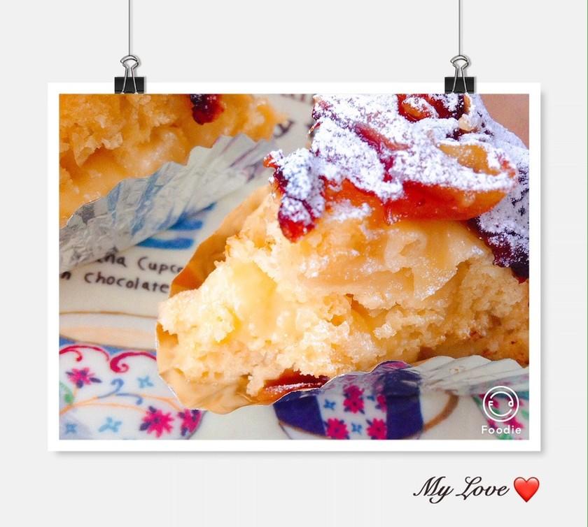 簡単♡炊飯器りんごケーキ♡