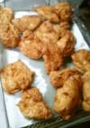 コストコヨシダソースグルメ味で、揚げ鶏