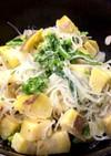 菜の花とサツマイモのサラダ