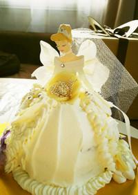 ウエディング♡ドールケーキ♡