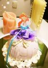 ♡お花♡可愛いドールケーキ