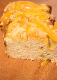 はっさくママレードのおからパウンドケーキ