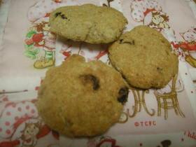 カントリーマアム風おからクッキー